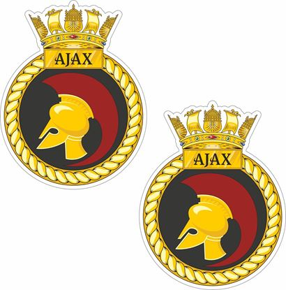 Picture of HMS Ajax (S125) Stickers