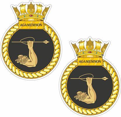 Picture of HMS Agamemnon (S124) Stickers