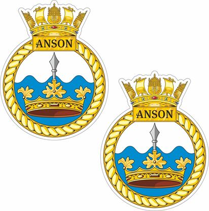 Picture of HMS Anson (S123) Stickers