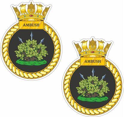 Picture of HMS Ambush (S120) Stickers