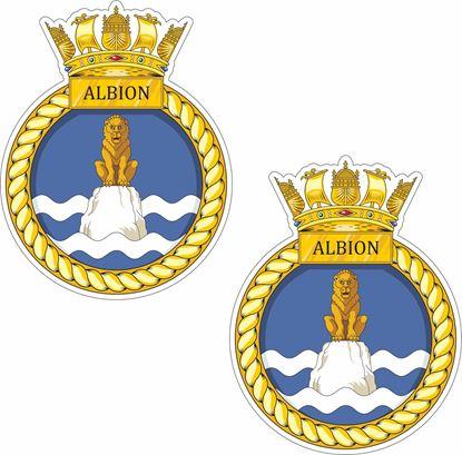 Picture of HMS Albion (L14), landing platform dock Stickers