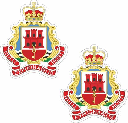 Picture of Gibraltar Regiment Stickers
