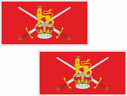 Picture of British Army, non-ceremonial flag Stickers