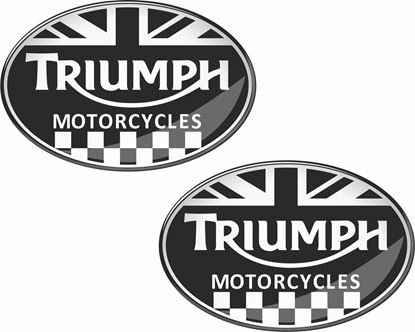 "Picture of ""Triumph Motorcycles""  3D Decals / Stickers"