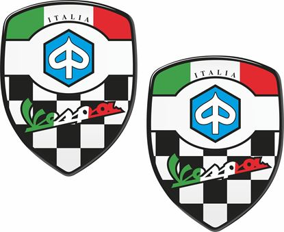 Picture of Vespa Italia Decals / Stickers