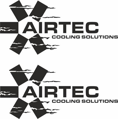 "Picture of ""Airtec Cooling Solutions""  Decals / Stickers"