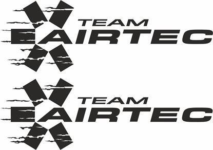 "Picture of ""Team Airtec"" Decals / Stickers"