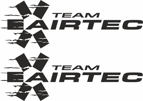 """Picture of """"Team Airtec"""" Decals / Stickers"""