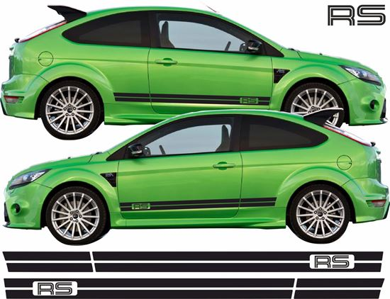Picture of Ford Focus RS MK2 3 Door side Stripes / Stickers