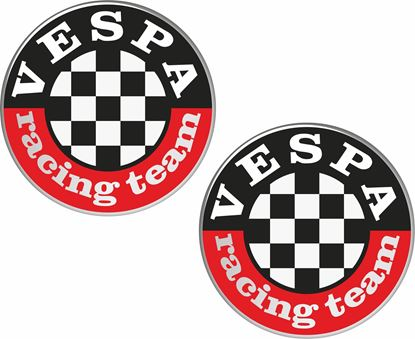 "Picture of ""Vespa Racing Team""Decals / Stickers"