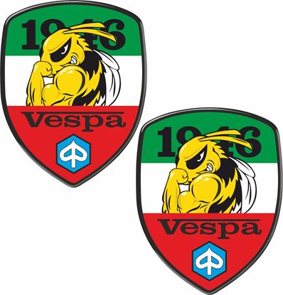 Picture of Vespa 1946 Bee Decals / Stickers