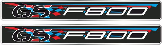 Picture of BMW F 800GS 110mm Adhesive Gel Badges