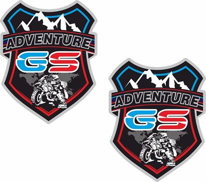 Picture of BMW Adventure GS  Pannier / Panel  Decals / Stickers