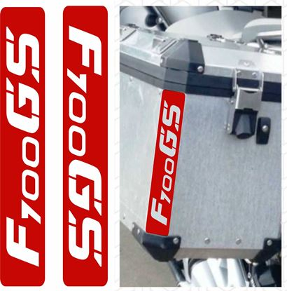 Picture of BMW F 700GS Touratech Reflective Pannier Decals / Stickers