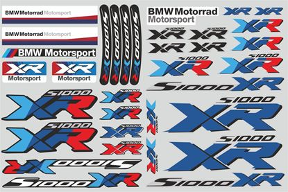 "Picture of ""S1000 XR "" BMW  Sticker Sheet"