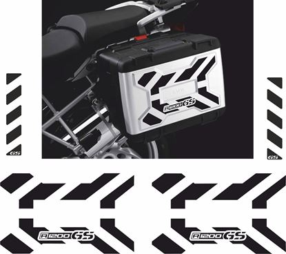Picture of BMW R 1200GS Vario Pannier Decals / Stickers