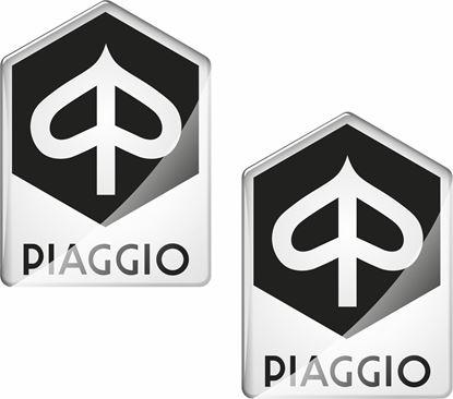 Picture of Vespa Piaggio 50mm tall Badges