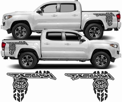 Picture of Toyota Tacoma side Bed Decals/ Stickers