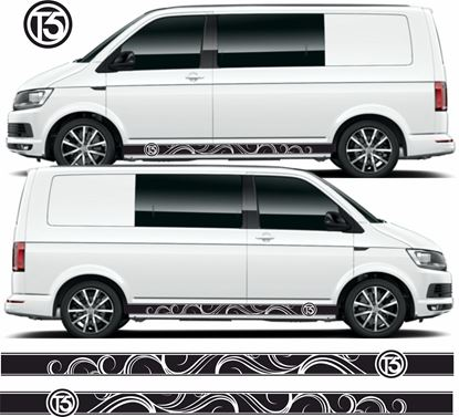 Picture of VW T5  Stripes / Stickers
