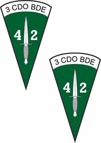 Picture of Royal Marines 42 Commando Stickers