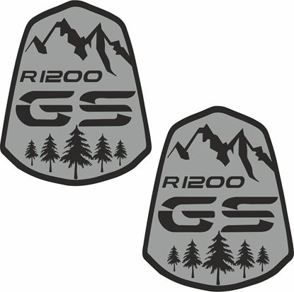 Picture of BMW R 1200GS Pannier / Panel  Decals / Stickers