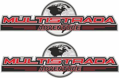 Picture of Ducati Multistrada  Adventure Decals / Stickers