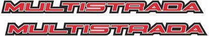 Picture of Ducati Multistrada Decals / Stickers