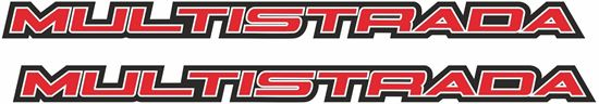 Picture of Ducati Multistrada Decals / Stickers