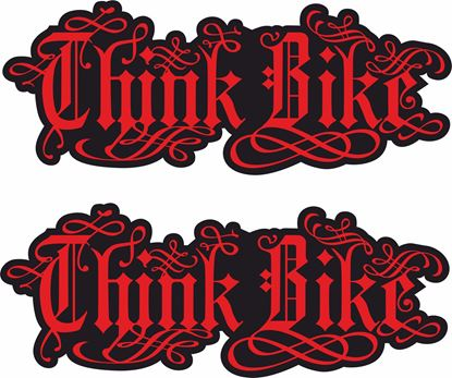 Picture of Think Bike  Decals / Stickers