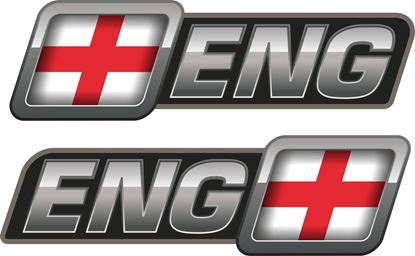 Picture of England Decals / Stickers