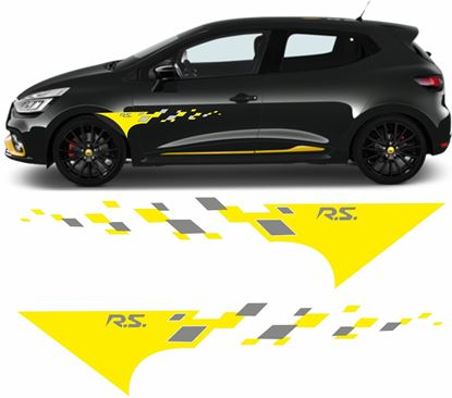 Picture of Renault Clio R.S. side Decals / Stickers