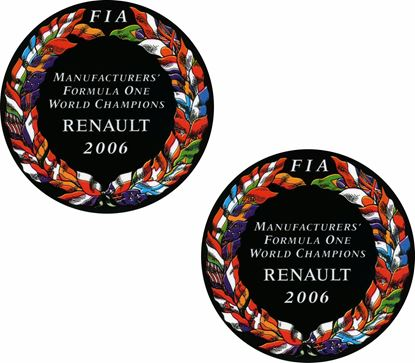 Picture of Renault FIA F1 replacement Decals / Stickers