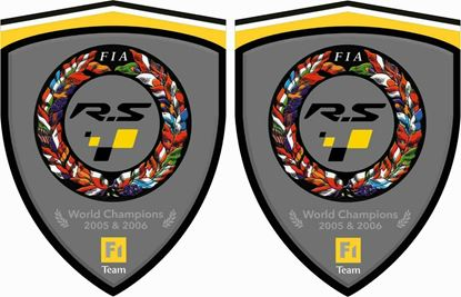 Picture of Renault R.S. Team F1 Decals / Stickers