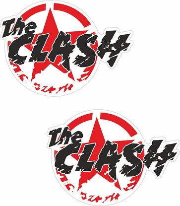 "Picture of ""The Clash"" Decals / Stickers"