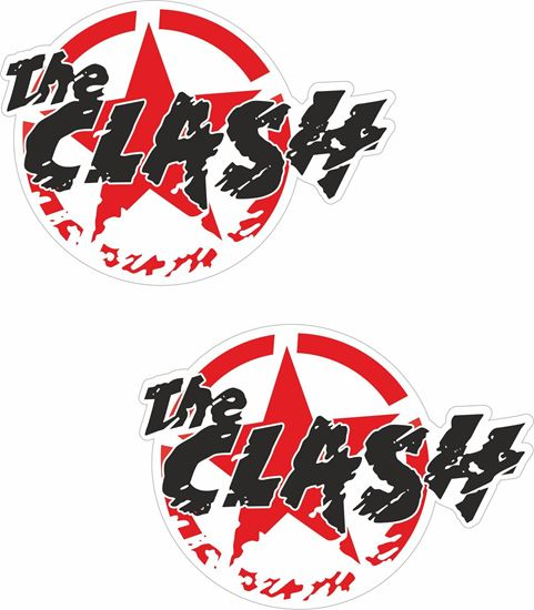 """Picture of """"The Clash"""" Decals / Stickers"""