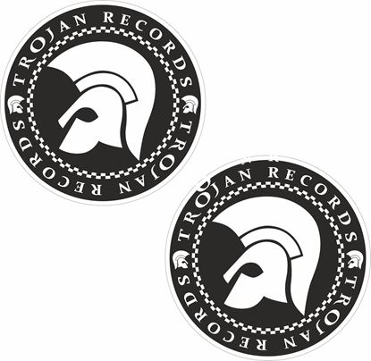 "Picture of ""Trojan Records"" Decals / Stickers"