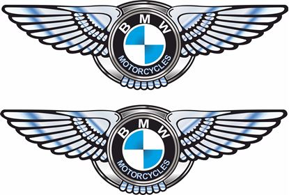 Picture of BMW Motorcycles Decals / Stickers