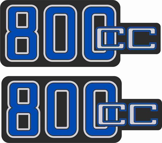 Picture of BMW R 80 Replacement side panel Decals / Stickers