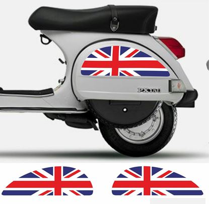 Picture of Vespa PX side panel Decals / Stickers
