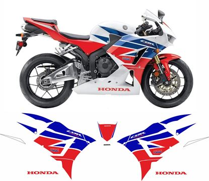 Picture of Honda CBR 600RR HRC 2013 - 2015 Replacement Decals / Stickers