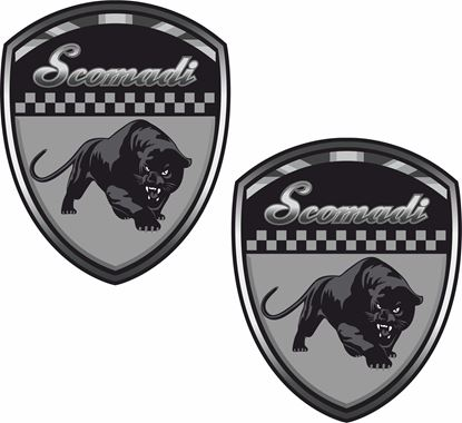 Picture of Scomadi Decals / Stickers