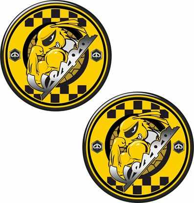 Picture of Vespa Bee Decals / Stickers