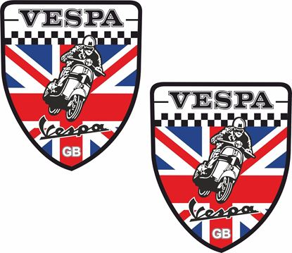 Picture of Vespa Piaggio  Decals / Stickers