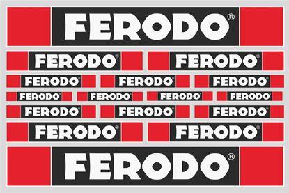 "Picture of ""Ferodo""  Track and street race sponsor Sticker Sheet"