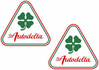 "Picture of Alfa Romeo  ""Autodelta"" Wing / General panel Decals / Stickers"