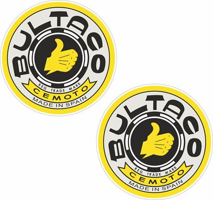 Picture of Bultaco Decals / Stickers