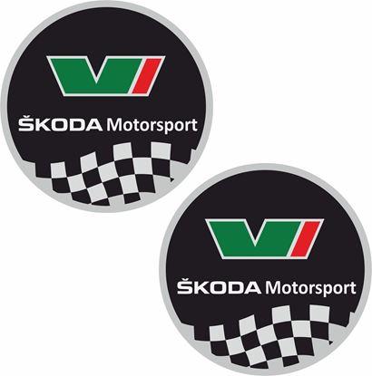 Picture of Skoda VRS Motorsport Decals / Stickers