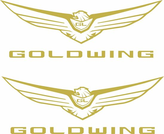 Picture of Honda Goldwing GL1800 2020 Decals / Stickers