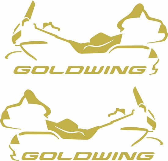 """Picture of Honda """"Goldwing"""" GL1800  Decals / Stickers"""