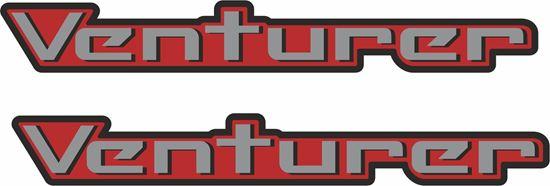 """Picture of Nissan Navara / Frontier 1998 - 2004  """"Venturer"""" replacement Decals / Stickers"""